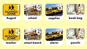 Calendar & Daily Vocabulary Bundle, All Year