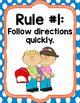 whole brain teaching posters- polka dot