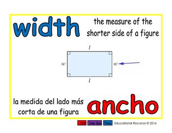 width/ancho geom 1-way blue/rojo