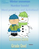 Grade 1 Winter math packet Common Core