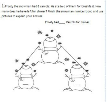 Grade 1 Winter math packet Common Core