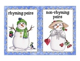 winter rhyme sort_snowman theme