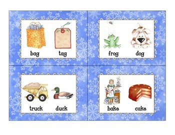 winter rhyme sort_snowman theme