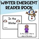 winter sight word book kindergarten