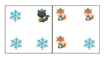 winter theme pre-reading