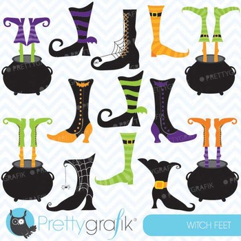 witch feet clipart commercial use, vector graphics, digital clip art - CL552