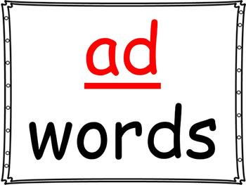 word family powerpoint ad by daily differentiation tpt