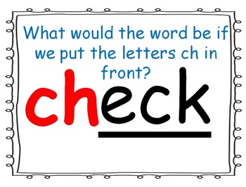 word family powerpoint: -eck