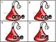 word family sliders_magic e: valentine candy kisses theme + bonus numeral cards