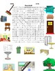 word search of household items with pics