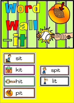 word wall it family(free)