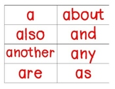 word wall_fundations level 1 words