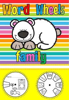 word wheel ap family