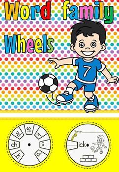 word wheel ick family (free)
