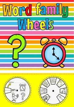 word wheel en family