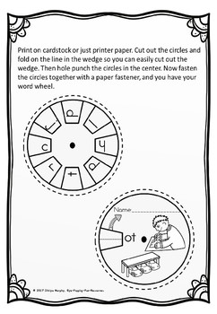 word wheel ot family (free)