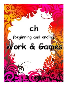 word work and games