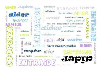 words background