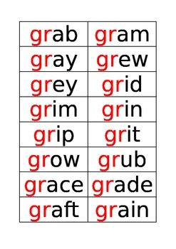 words starting with gr