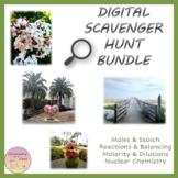 Distance Learning Chemistry Bundle - Digital Scavenger Hun