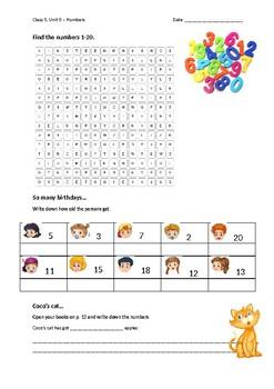 worksheet numbers exercises