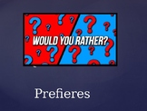 would you rather spanish