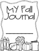 Seasonal Journals {Writing Prompts & Stationary}