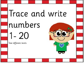 write numbers 1 to 20