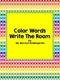 write the room colors