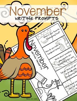 writing - November Writing Prompts