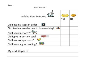 writing a How To Book Checklist