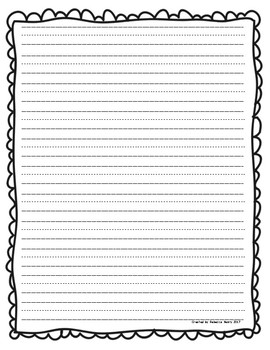 writing paper Thanksgiving/fall