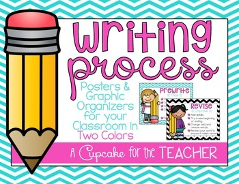 Writing Process {Posters & Graphic Organizers}