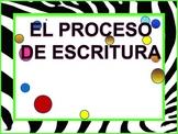 writing process spanish
