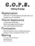 writing strategy acronyms vertical