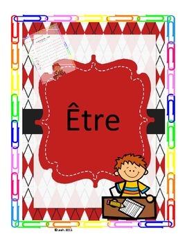 writing the verb ETRE (ecrire le verbe ETRE)