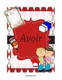 writting the french verb AVOIR (ecrire le verbe AVOIR)