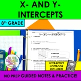 x and y Intercepts Notes
