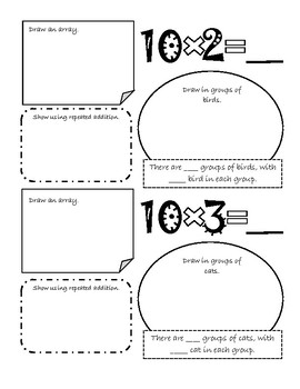 x10 Multiplication Booklet