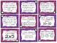x5 and x10 Multiplication Task Cards (Grade 3 GoMath! 4.2)