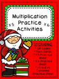 x5 and x6 Christmas Multiplication