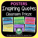50 Inspiring Quotes Bright Instant Decor Famous Quotes Frieze Bulletin Board CLR