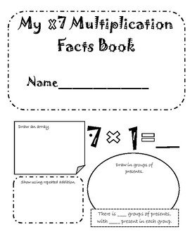 x7 Multiplication Booklet