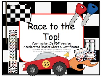 Accelerated Reader - AR - points chart by 10's