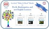 "Printables xyz1: My ""x,y,z"" Words Books (ENTERING level)"