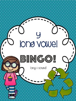 y Long Vowel Bingo - long i sound - [10 playing cards]