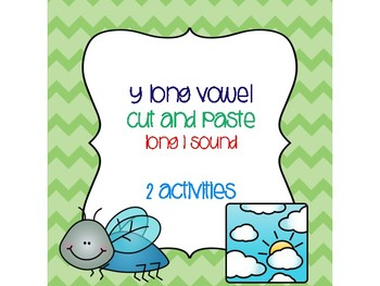 y Long Vowel Cut and Paste (long i sound)
