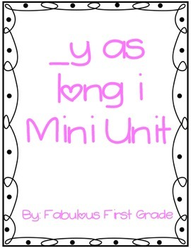 _y as long /i/ Mini Unit