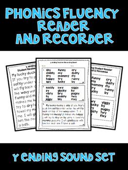 y ending - Phonics Fluency Assessment