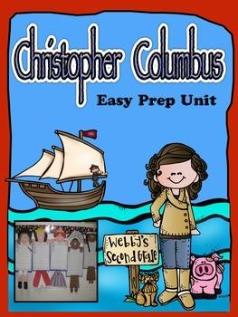 Christopher Columbus Mega No Prep Unit with Readers